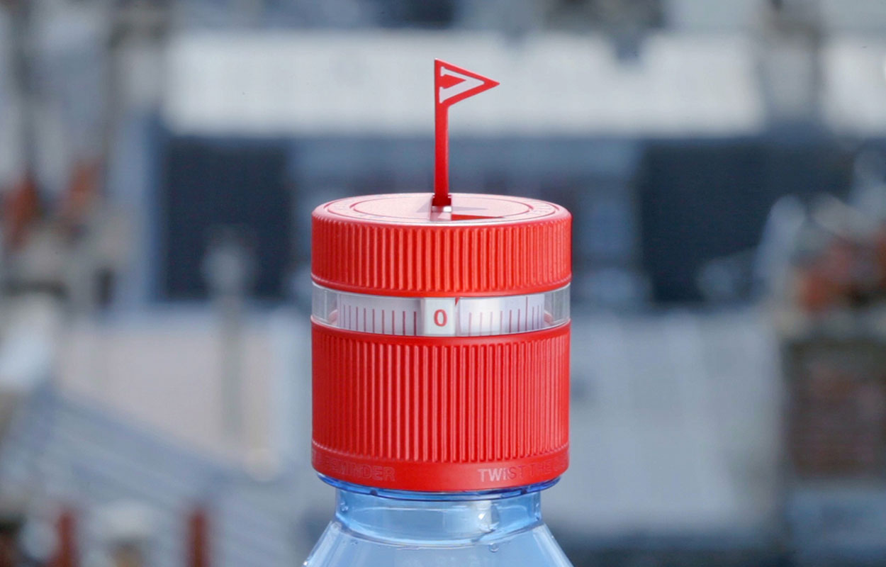Vittel Refresh caps - Ova Design
